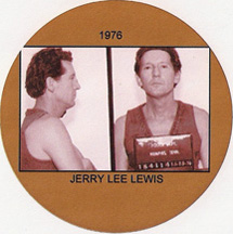 Jerry Lee Lewis, 1976 mugshot