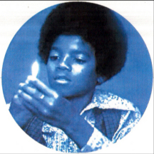 young Michael Jackson playing with fire