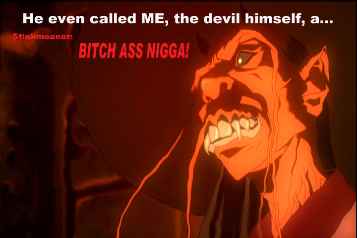 the devil in The Boondocks