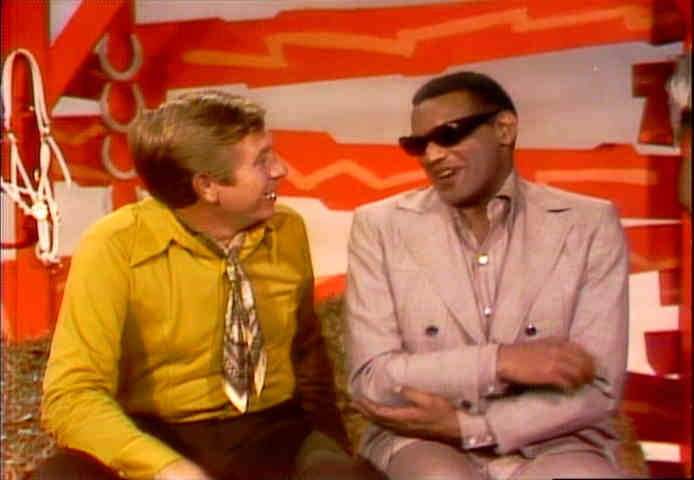ray charles hee haw photo gallery buck owens asks ray charles about his necktie