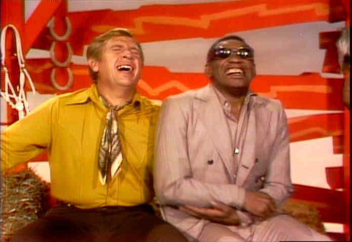 ray charles hee haw photo gallery buck owens and ray charles laughing like hyenas