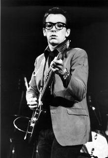 Declan Patrick Aloysius MacManus live on stage, 1977