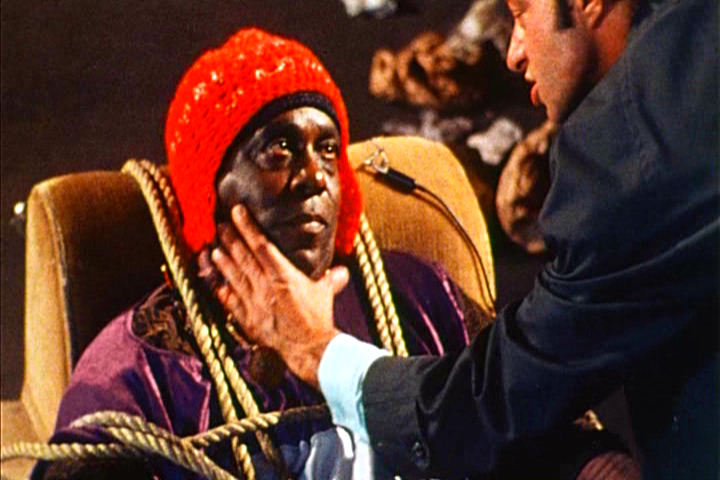Sun Ra held captive by The Man