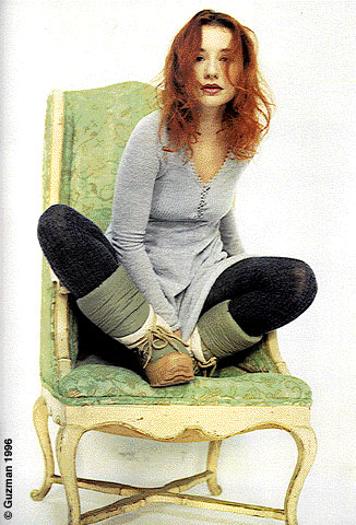 Tori Amos with big old boots